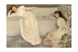 Symphony in White, No. III, 1865-7 Giclee Print by James Abbott McNeill Whistler