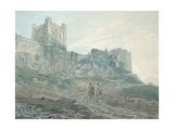 Bamburgh Castle, Northumberland, 18th Century Giclee Print by Thomas Girtin