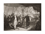 Lord Viscount Duncan's Victory, Illustration from 'England's Battles by Sea and Land' by Lieut.… Giclee Print by William Orme