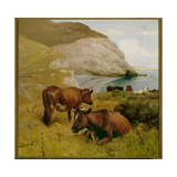 Near Lizard Point, Cornwall Giclee Print by Arthur Lemon