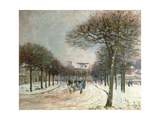 The Road to Saint-Germain at Marly, 1874-5 Giclee Print by Alfred Sisley