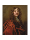 Portrait of Sir Peter Lely (1618-80) Giclee Print by William Wissing