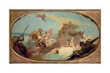 Apotheosis of Admiral Vittor Pisani Giclee Print by Giovanni Battista Tiepolo