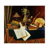 Still Life Giclee Print by William Michael Harnett