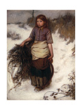 Winter Giclee Print by Frank Holl