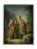 Abraham and Isaac Giclee Print by Balthasar Beschey