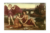 Love's Passing, 1883-84 Giclee Print by Evelyn De Morgan