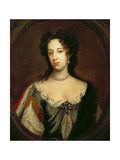 Portrait of Mary of Modena (1658-1718) Second Wife of James II, C.1685 Giclee Print by William Wissing