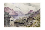 Romsdal Fjord, 1850 Giclee Print by William West