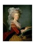 Portrait of Marie Antoinette (1755-93) Giclee Print by Elisabeth Louise Vigee-LeBrun