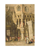 The Doge's Palace, Venice Giclee Print by Samuel Prout