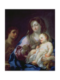 Madonna and Child with St. John the Baptist Giclee Print by Francesco Trevisani