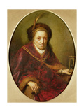 An Old Woman with an Hour Glass Giclee Print by Gerrit or Gerard Dou