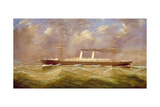 The S.S. America Giclee Print by James Miller