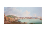 Bay of Naples, 18th Century Giclee Print by Pietro Fabris