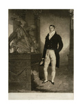 Mr Gully, Engraved by Charles Turner (1774-1857) Giclee Print by Benjamin Marshall
