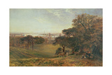 View of the Thames at Greenwich Giclee Print by George Vicat Cole