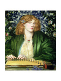 The Blue Bower, 1865 Giclee Print by Dante Gabriel Rossetti