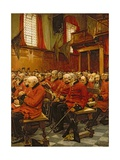 The Last Muster, 1875 Giclée-Druck von Hubert von Herkomer