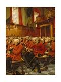 The Last Muster, 1875 Giclée-Druck von Sir Hubert von Herkomer