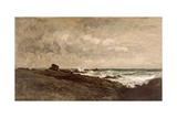Seascape, C.1867 Giclee Print by Charles Francois Daubigny