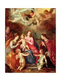 Adoration Giclee Print by Hans I or Johann Rottenhammer