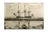 A View of Ye Jason Privateer, C.1760 Giclee Print by Nicholas Pocock