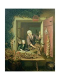 Boy Buying Chestnuts Giclee Print by Willem Van Mieris