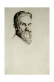 Portrait of George Bernard Shaw Giclee Print by William Strang