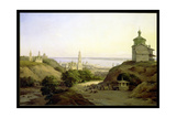 View of Yuryevets, on the Volga, 1851 Giclee Print by Nikanor Grigor'evich Chernetsov