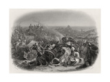 The Battle of Meeanee, 1843, Engraved by C.H. Jeens (1827-79) Giclee Print by Edward A. Armitage