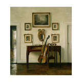 The Music Room Giclee Print by Carl Holsoe