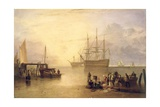 The Sun Rising Through Vapour, C.1809 Giclee Print by Joseph Mallord William Turner