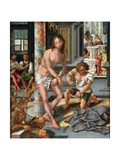 The Flagellation Giclee Print by Pieter Coecke van Aelst