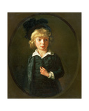 Portrait of a Boy Giclee Print by Nathaniel Hone