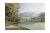 Rydal Water Giclee Print by Francis Towne