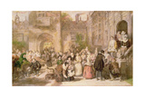 Coming of Age in the Olden Time Giclee Print by William Powell Frith