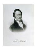 Portrait of Captain William Clark (1770-1838) Engraved by Samuel Hollyers (1826-1919) for Volume… Giclee Print by Charles Willson Peale