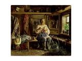 The Blind Husband, 1884 Giclee Print by Vasili Maksimovich Maksimov