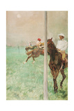 Jockeys before the Race, C.1878-79 Giclee Print by Edgar Degas