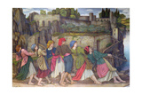 The Women of Sorrento Giclee Print by John Roddam Spencer Stanhope