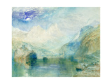 The Lowerzer See Giclee Print by J. M. W. Turner