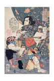 Tameijiro Genshogo Slaying Orin, from the Series '108 Chinese Heroes of the 'Suikoden' ('Tsuzoku… Giclee Print by Kuniyoshi Utagawa