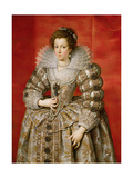 Anne of Austria (1601-66) Giclee Print by Frans II Pourbus