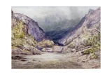 Romsdal, Norway, 1850 Giclee Print by William West