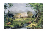 Noah's Ark, Pub. by Currier and Ives, New York Giclee Print by Napoleon Sarony