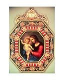 Madonna med barnet Giclée-tryk af Carlo Dolci