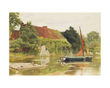 The Friars, Aylesford, Maidstone Giclee Print by Albert Goodwin