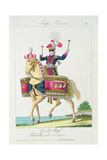 The Royal Guard: a Kettledrummer of the Lancers, Plate from French Troops Giclee Print