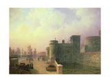 Traitors' Gate, Tower of London Giclee Print by Henry Pether